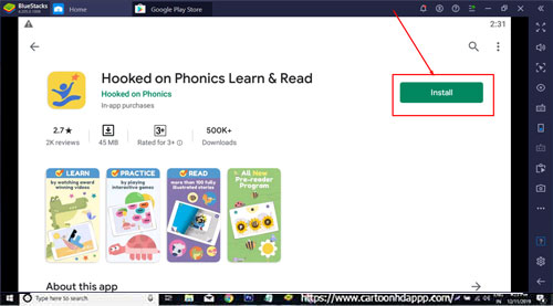 Hooked on Phonics Learn and Read for Windows 10