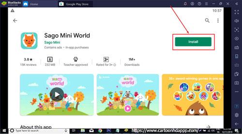 Sago Mini World for Windows 10