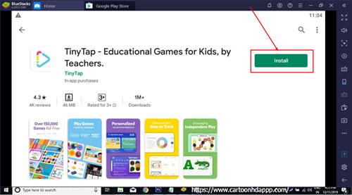 TinyTap for Windows 10