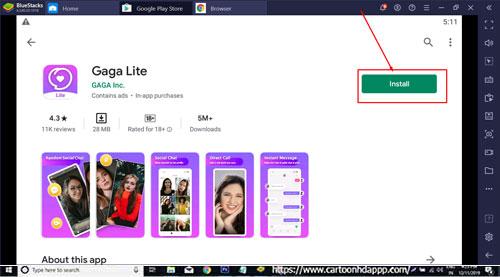 Gaga Lite for Windows 10