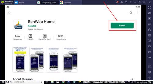 RenWeb Home for Windows 10