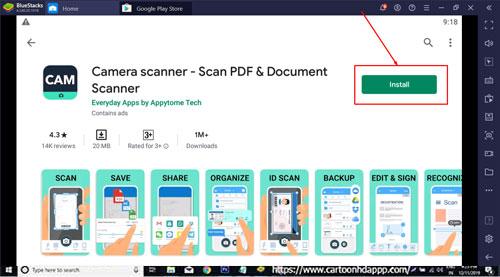 CamScanner for Windows 10
