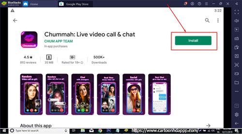 Chummah for Windows 10