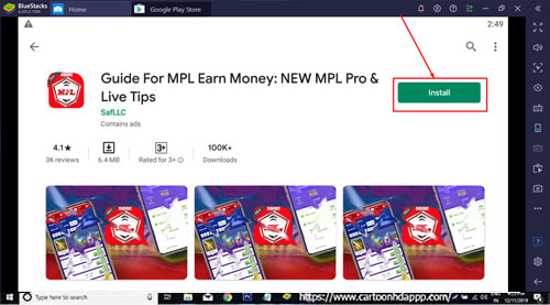 MPL Game Guide for Windows 10