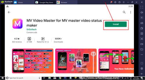 MV Video Master for Windows 10
