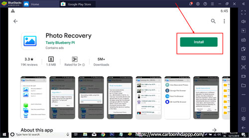 Photo Recovery for Windows 10