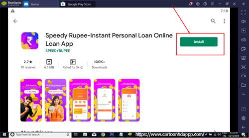 Speedy Rupee for Windows 10