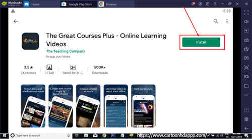 The Great Courses Plus for Windows 10