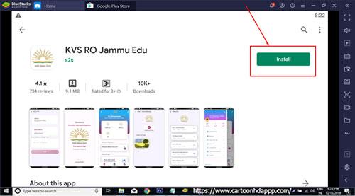 KVS RO Jammu Edu for Windows 10