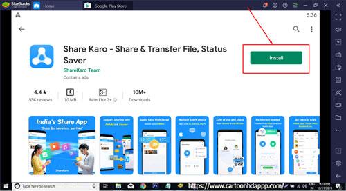 Share Karo fro Windows 10
